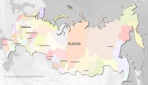 Blank Physical Map Of Russia by Russia Maps By Freeworldmaps Net