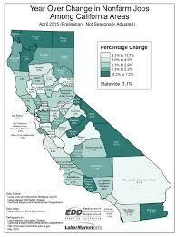 Lodi Ca Map April 2015 Edd Jobs Report