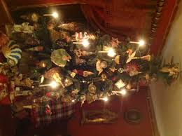 collection real candles on christmas tree pictures photo of the
