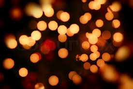 abstract background of orange lights stock photo