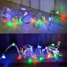 Ebay String Lights by Led Light String Wire Lighting Silver Wire Led Chain Deco Flexible