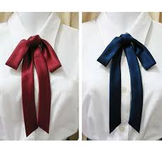 tie ribbon jk japanese school uniforms quality satin ribbon bow tie lengthening