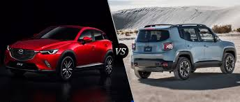 jeep crossover 2015 2016 mazda cx 3 vs 2015 jeep renegade
