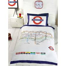Map Bedding London Underground Tube Map Single Duvet Cover Bedding