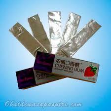 permen karet perangsang obat perangsang wanita