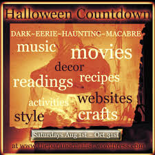 countdown to halloween calendar halloween countdown renae rude the paranormalist