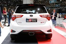 toyota yaris grmn hatch joins facelift and wrc race car in
