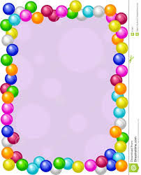 gumball clipart border pencil and in color gumball clipart border