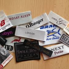 design label woven customized woven garment labels uk supplier