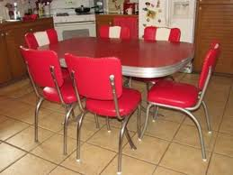 Retro Dining Set S Style Retro Dining Set Formica Table U - Old kitchen table
