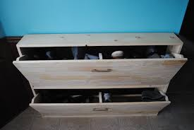 Build Shoe Storage Bench Plans by Ana White Shoe Cabinet Aka My Kitchen U0027s Best Friend Diy Projects
