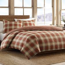 bauer edgewood reversible duvet cover set