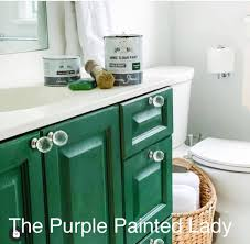 green chalk paint kitchen cabinets sloan the purple painted