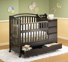 Crib Dresser Changing Table Combo Cribs With Attached Changing Table Dresser Baby And Combine