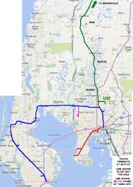 Tampa Bay Map Csx U0027s Offer Finally Opens The Door To Commuter Rail In Tampa Bay
