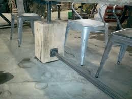Oak Slab Table by Rough Sawn Oak Slab Table Davelennard Com