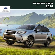 subaru forester 2018 owner resources 2018 forester subaru canada