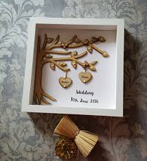 wedding tree wooden tree wedding frame gift