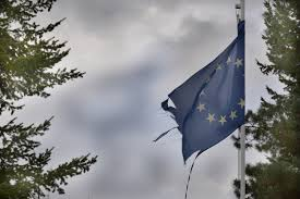 European Flags Images Free Images Tree Wind Europe Flag Broken Blue Torn Eu