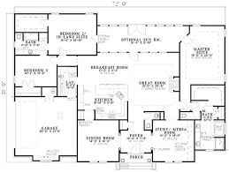floor master bedroom single story house plans with two masters home deco plans