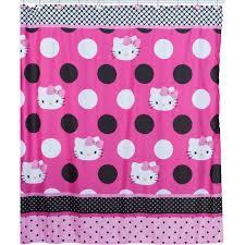 Shower Curtain At Walmart - hello kitty dots j u0027adore fabric shower curtain walmart com