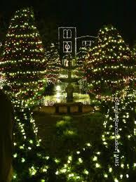 barnsley gardens christmas lights christmas lights at the ruins picture of barnsley resort