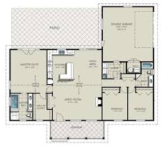 open layout house plans sq ft house plans 3 car garage on side with 1800 2000 homes zone