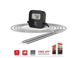 android thermometer cappec s bluetooth wireless bbq thermometer smoker friendly for