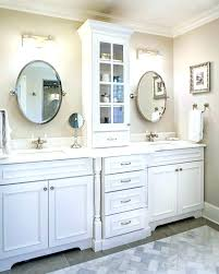 Bathroom Vanities And Linen Cabinet Sets Bathroom Counter Tower Cabinet Bathroom Cabinet Tower Medium Size