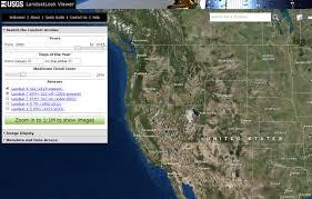 Usgs Wildfire Data by Data Tip Usgs Landsatlook Viewer