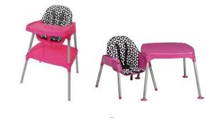 high chair converts to table and chair recall evenflo children s high chair recalled wtvr com