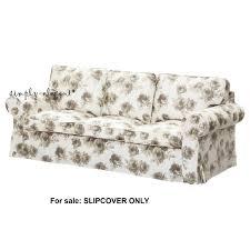 Ikea Sofa Covers Ektorp Ikea Ektorp Slipcover 3 Seat Seater Sofa Cover Norlida White Beige