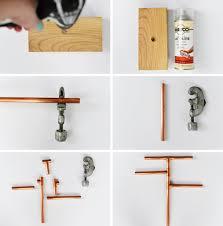 diy copper pipe jewelry stand