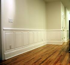 interior design wood panel walls with white color wainscoting ideas