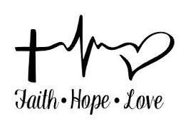 faith hope love svg cutting tatooo pinterest faith hope