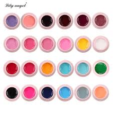 aliexpress com buy lily angel 24 colors uv gel kit paint color