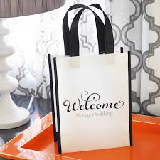 welcome to our wedding bags wedding welcome bags
