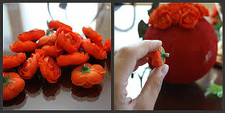 Topiary Balls With Flowers - the pretty poppy tutorial a cheerful flower topiary