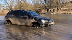 mobil jeep lama volkswagen touareg 2015 extreme off road test drive 4x4 youtube