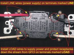 electrical how do i wire a gfci to provide continuous power to a
