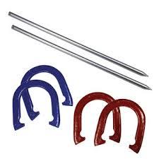 personalized horseshoe set sportcraft horseshoe set