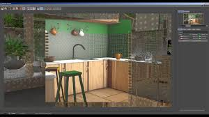 kitchen 3d model for c4d free downloads file youtube