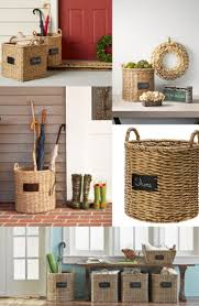 Laundry Room Accessories Storage by Best 20 Decorating Baskets Ideas On Pinterest Industrial