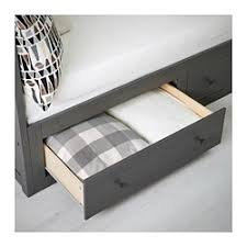Ikea Hemnes Daybed Hemnes Daybed With 2 Drawers 2 Mattresses Gray Stained