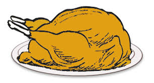 turkey on platter thanksgiving turkeys