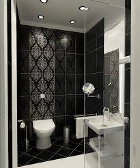 monochrome bathroom black and white small bathrooms black and