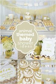 Safari Boy Baby Shower Ideas - a golden safari themed baby shower safari theme babies and animal