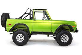 jeep rescue green early model ford bronco builds classic ford broncos