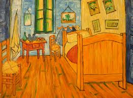 van gogh bedroom painting image only van gogh interior of a vincent van gogh painted three versions of bedroom in arles the art institute of chicago shows