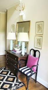 queen anne entry table updated entryway and bringing spring in spring house beautiful
